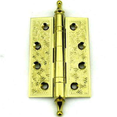 Дверная петля Armadillo CASTILLO 102х76х3.5мм универсальная IG итальянское золото