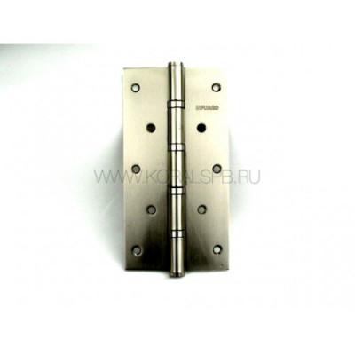 Дверная петля FUARO универсальная 200х105х3 мм матовый никель