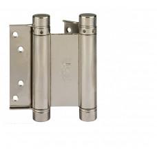 Петля дверная пружинная двусторонняя маятниковая ALDEGHI 125 мм никель