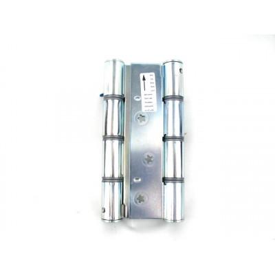 Петля дверная пружинная двусторонняя маятниковая ALDEGHI CODE 87AZ 155x30 мм никель