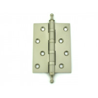 Дверная петля латунная универсальная Armadillo 500-A4 PN перламутровый никель