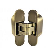 Петля дверная скрытая Armadillo 60 кг  UNIVERSAL 1160UN3D AB бронза