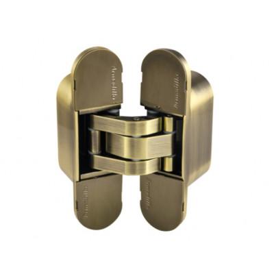 Петля дверная скрытая Armadillo 60 кг  UNIVERSAL 11160UN3D AB бронза