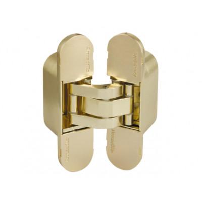 Петля дверная скрытая Armadillo 60 кг  UNIVERSAL 11160UN3D SG матовое золото