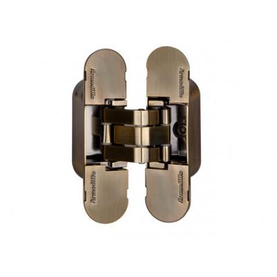 Петля дверная скрытая Armadillo 40 кг UNIVERSAL 9540UN3D AB бронза