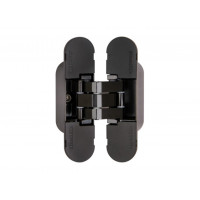 Петля дверная скрытая Armadillo 40 кг  UNIVERSAL 9540UN3D BL черный