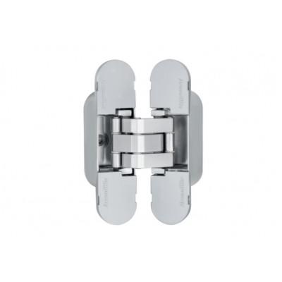 Петля дверная скрытая  Armadillo 9540UN3D SC матовый хром универсальная