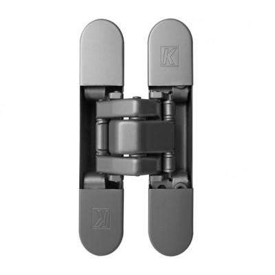 Петля дверная скрытая ATOMIKA SLIM K 8060 HD универсальная матовый хром
