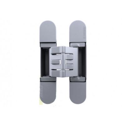 Петля дверная скрытая KUBICA K2760 универсальная матовый хром