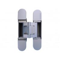 Петля дверная скрытая KUBICA HYBRID K2780 универсальная матовый хром