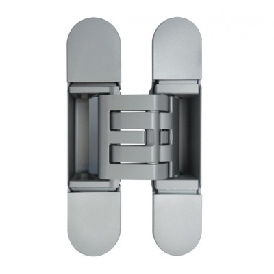 Петля дверная скрытая KUBICA 6360 38 HYBRID универсальная матовый хром