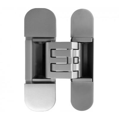 Петля дверная скрытая KUBICA 6360 45 HYBRID универсальная матовый хром