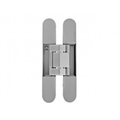 Петля дверная скрытая KUBICA KUBI7 K7120 универсальная матовый хром