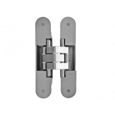 Петля дверная скрытая KINOX K7316  универсальная матовый хром