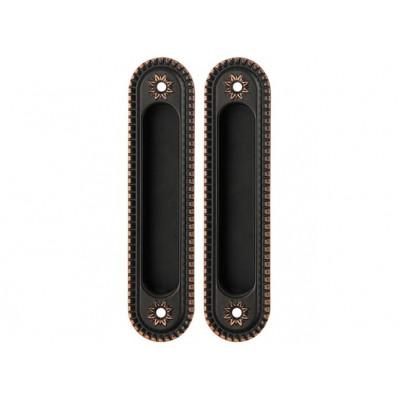 Комплект ручек Armadillo Castillo для раздвижных дверей SH 010 CL ABL-18 темная медь