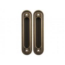 Комплект ручек Armadillo Castillo для раздвижных дверей SH 010 CL BB-17 бронза коричневая