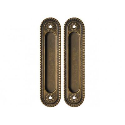Комплект ручек Armadillo Castillo для раздвижных дверей SH 010 CL OB-13  антик бронза