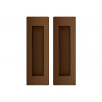 Комплект ручек для раздвижных дверей Armadillo URBAN SH 010 URB BB-17 коричневая бронза