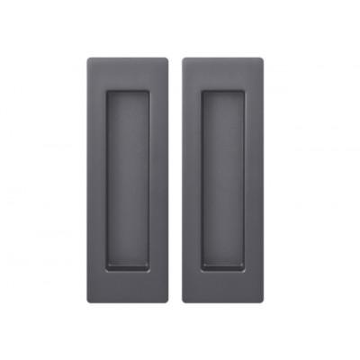 Комплект ручек Armadillo URBAN для раздвижных дверей SH 010 URB BPVD-77 вороненый никель