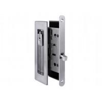 Комплект замка для раздвижных дверей под фиксатор Armadillo SH 011 URB MWSC-33 матовый хром