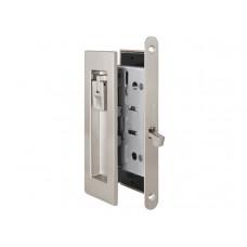 Комплект замка для раздвижных дверей под фиксатор Armadillo SH 011 URB SN матовый никель