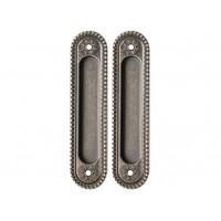Комплект ручек Armadillo Castillo для раздвижных дверей AS-9 античное серебро