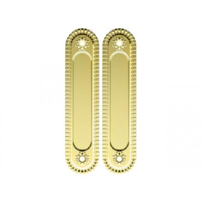 Комплект ручек Armadillo Castillo для раздвижных дверей SH 010 CL GOLD-24 золото 24К