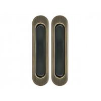 Комплект ручек для раздвижных дверей старая бронза  Armadillo SH 010 AB-7