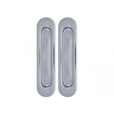 Комплект ручек для раздвижных дверей хром Armadillo SH 010 CP