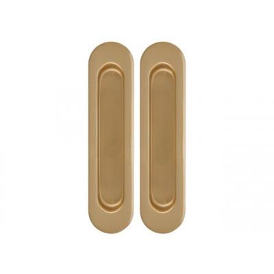 Комплект ручек Armadillo для раздвижных дверей матовое золото