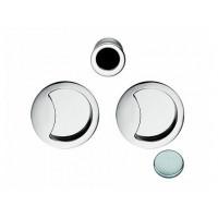 Комплект ручек для раздвижных дверей COLOMBO ID211-CM матовый хром