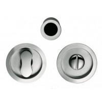 Комплект замка для раздвижных дверей под фиксатор COLOMBO ID211-LK CM матовый хром