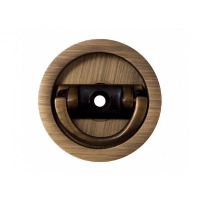 Комплект ручек для раздвижных дверей Venezia U155 матовая бронза