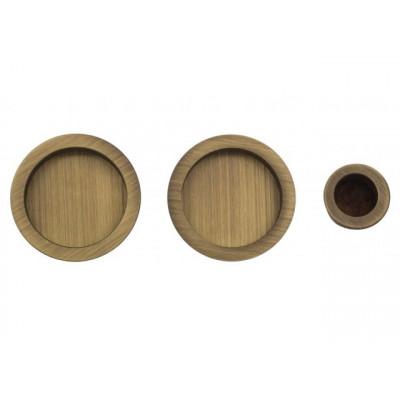 Комплект ручек для раздвижных дверей Venezia U199 матовая бронза