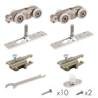Комплект роликов для раздвижных дверей  Armadillo Comfort-PRO STANDART  80 кг