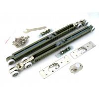 Комплект роликов для раздвижных дверей с 2 доводчиками Armadillo Comfort-PRO STANDART SOFT  80 кг