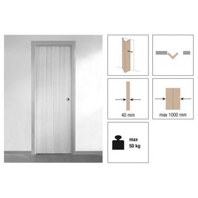 Комплект роликов для складной двери с притвором Krona Koblenz 0260-50