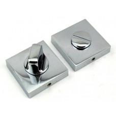 Завертка в санузел FUARO BK DM CP никель матовый-хром