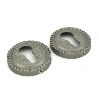 Накладка на цилиндр Armadillo ET CL AS античное серебро