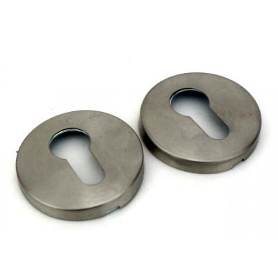 Накладка на цилиндр из нержавеющей стали Fuaro DSS-02-ET