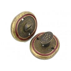 Завертка в санузел VAL DE FIORI OB/BRI бронза состаренная с эмалью