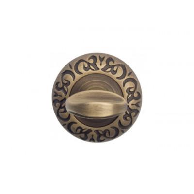 Завертка в санузел Venezia WC-2 D4 матовая бронза