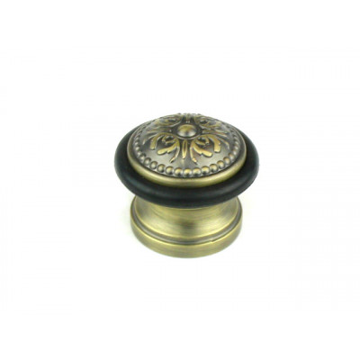 Упор ограничитель хода дверной напольный FUARO Classic DS SM01 МАВ бронза античная матовая