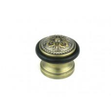 Упор (ограничитель хода) дверной напольный FUARO Classic DS SM01 МАВ бронза античная матовая