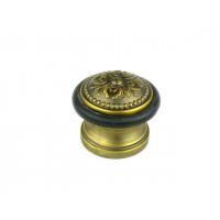 Упор ограничитель хода дверной напольный FUARO Classic DS SM01 AВ бронза