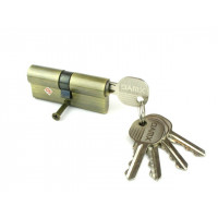Цилиндровый механизм (личинка, сердцевина) DOMAX N60 ключ-ключ 60 мм. АВ бронза