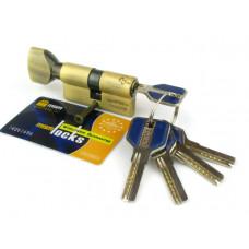 Цилиндровый механизм (личинка, сердцевина) MSM locks CW60 ключ-завертка60 мм. АВ бронза