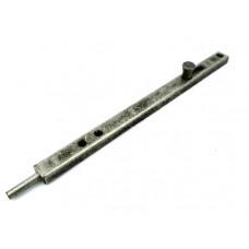 Засов дверной ALDEGHI 300 мм античное серебро