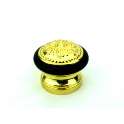Упор ограничитель хода дверной напольный FUARO Classic DS SM01 GOLD-24 золото 24K
