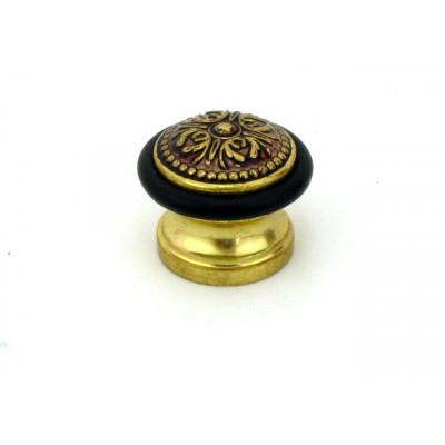 Упор ограничитель хода дверной напольный FUARO Classic DS SM01 RB-10 французское золото